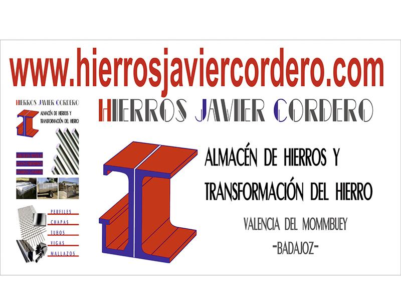 HIERROS JAVIER CORDERO