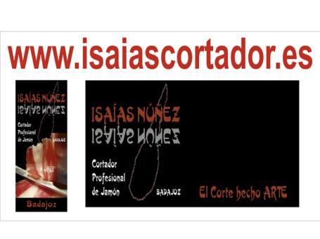 ISAÍAS NÚÑEZ, CORTADOR PROFESIONAL DE JAMÓN