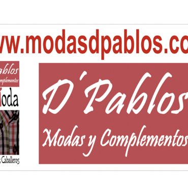 D PABLOS MODA Y COMPLEMENTOS